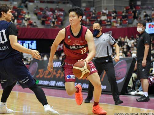 【Bリーグ注目の移籍選手】川崎ブレイブサンダース・前田悟「川崎の全員バスケットに惹かれた」