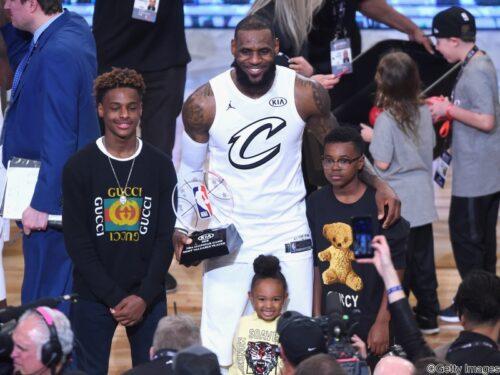 父レブロンは抜き…ブロニー・ジェームズが選んだNBA選手トップ5とは?