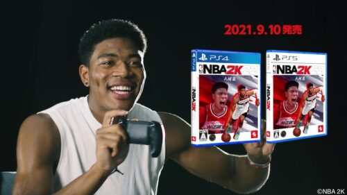 八村塁が吠える!駆け回る!歓喜のダンス!?「NBA 2K22」日本版TVCM「八村塁と遊ぼう篇」が公開!