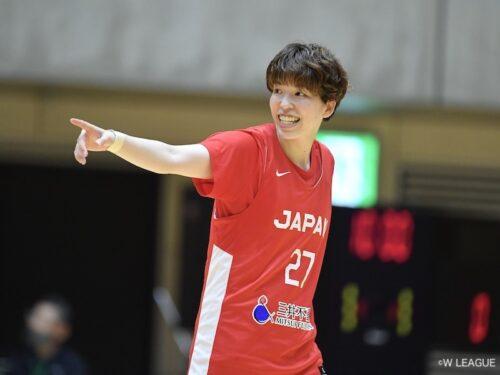 東京五輪の経験を糧にする主将の林咲希「3Pを止められたときに何ができるか…」