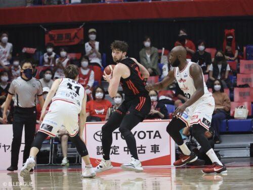 114点を奪ったA東京がホームで連勝を飾る…後半に失速した富山は開幕4連敗に