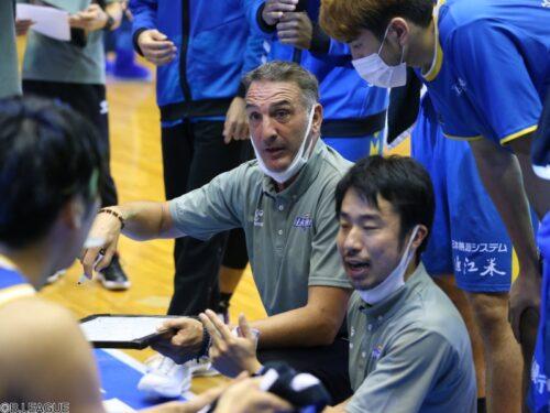 開幕好スタートを切った滋賀…指揮官は「どんな選手の組み合わせでも勝つゲーム作れる」と自信
